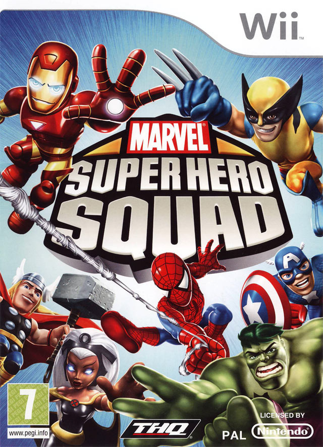 [Multi] Marvel Super Hero Squad [Wii]