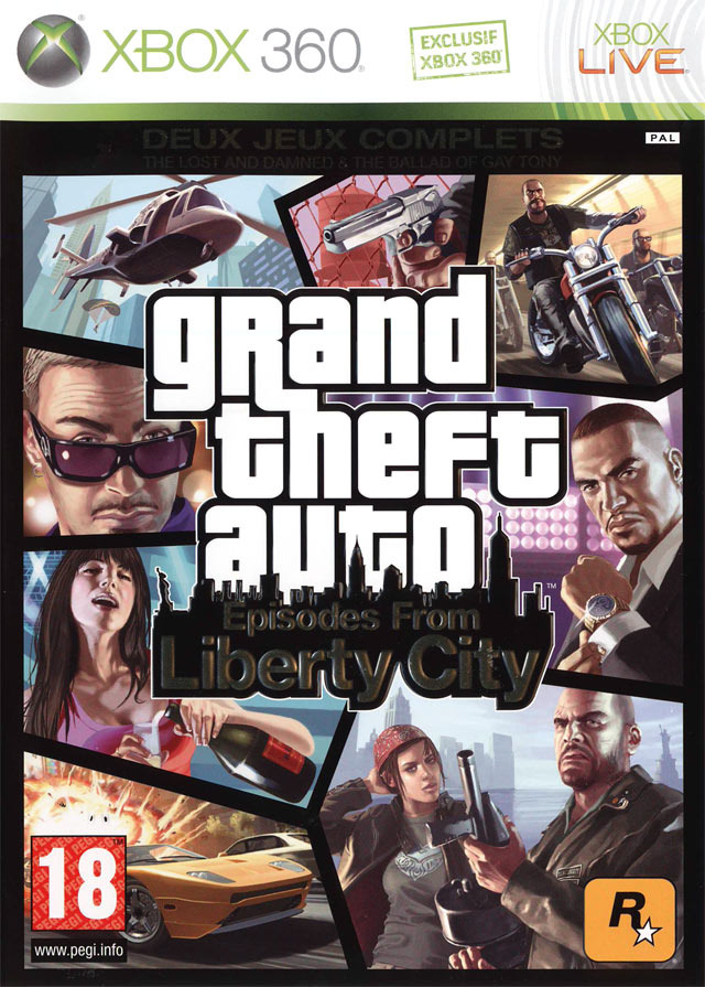 [Multi] Grand Theft Auto : Episodes from Liberty City [MULTi LANG XBOX360 DVD]