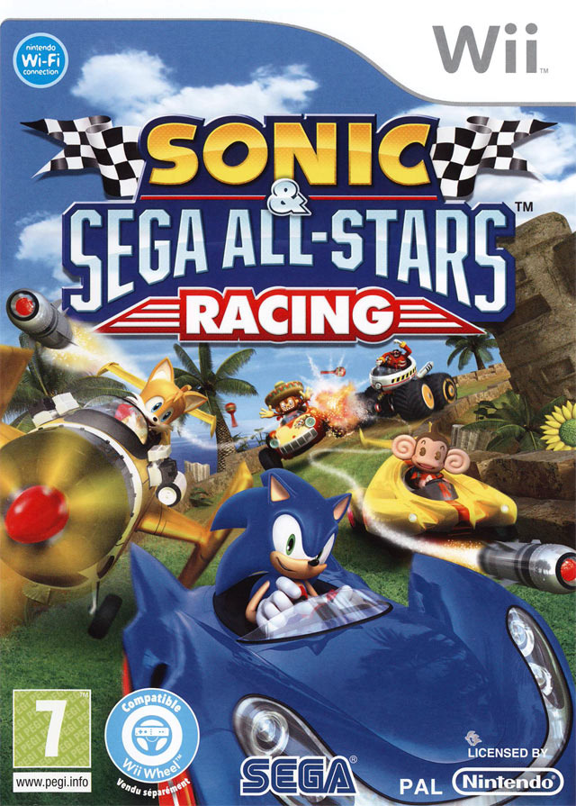Sonic & Sega All-Stars Racing MULTiLANGUES Wii