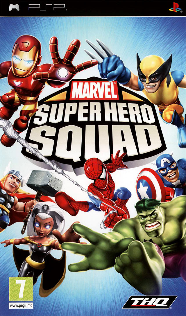 [FS]  Marvel Super Hero Squad [FR] [PSP]