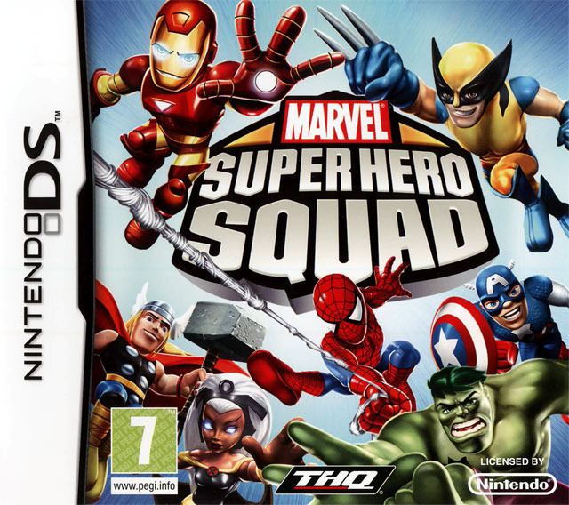 [SharingMatrix] Marvel Super Hero Squad [DS]