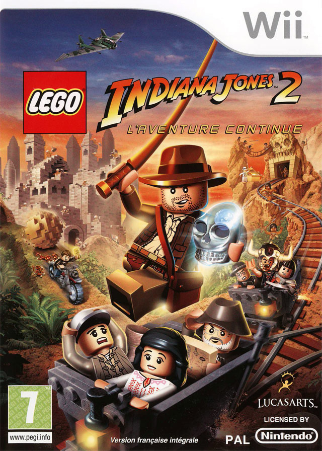 [MU] Wii - Lego Indiana Jones 2 - L'Aventure Continue [PAL] [Wii]