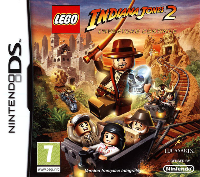 Lego Indiana Jones 2 : L'Aventure Continue DS