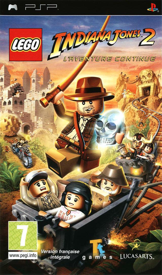 Lego indiana jones 2 l 39 aventure continue sur playstation portable - Jeux de lego sur jeux info ...