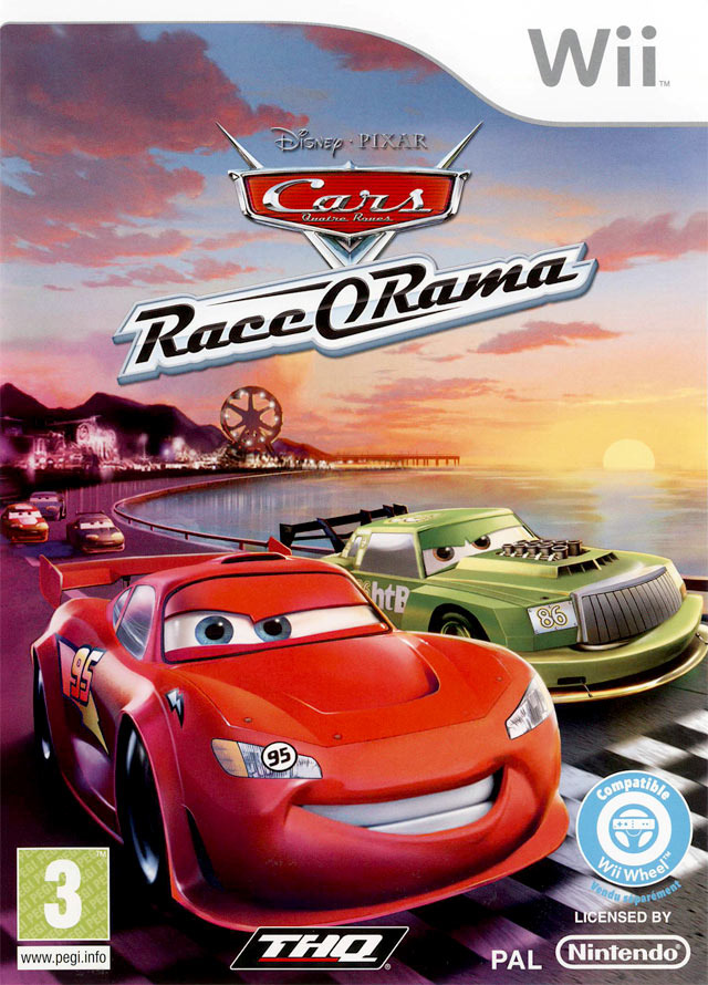 cars race o rama sur wii. Black Bedroom Furniture Sets. Home Design Ideas