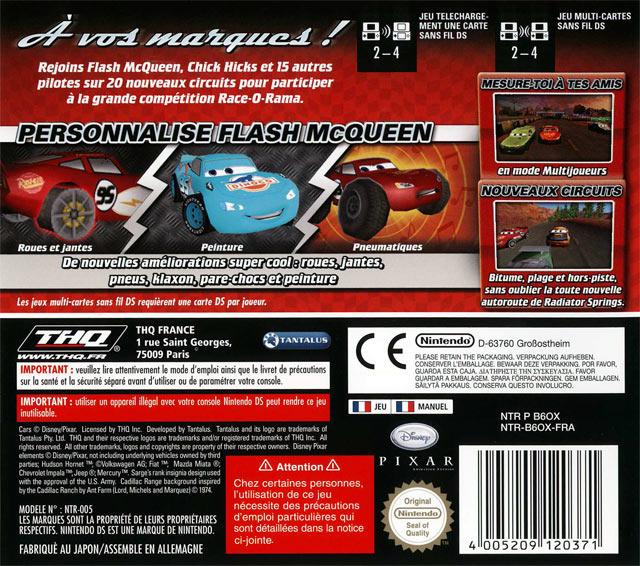 lot de 3 jeux cars race o rama coupe de martin nintendo ds dsi 3ds ebay. Black Bedroom Furniture Sets. Home Design Ideas