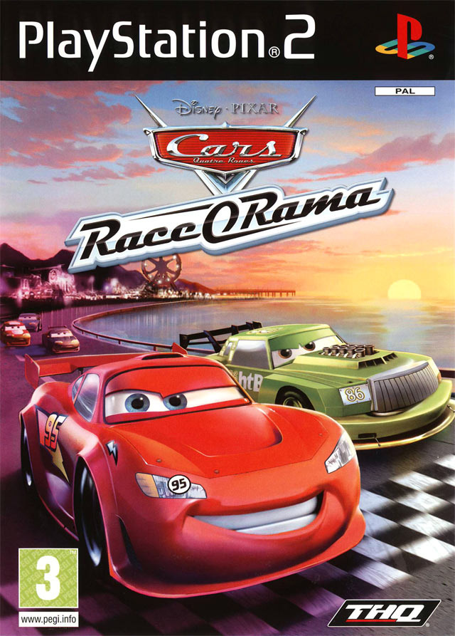 cars race o rama sur playstation 2. Black Bedroom Furniture Sets. Home Design Ideas