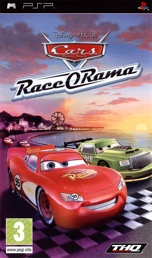 cars race o rama sur playstation portable. Black Bedroom Furniture Sets. Home Design Ideas