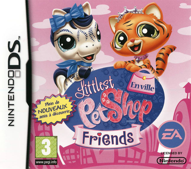 littlest pet shop friends en ville sur nintendo ds. Black Bedroom Furniture Sets. Home Design Ideas