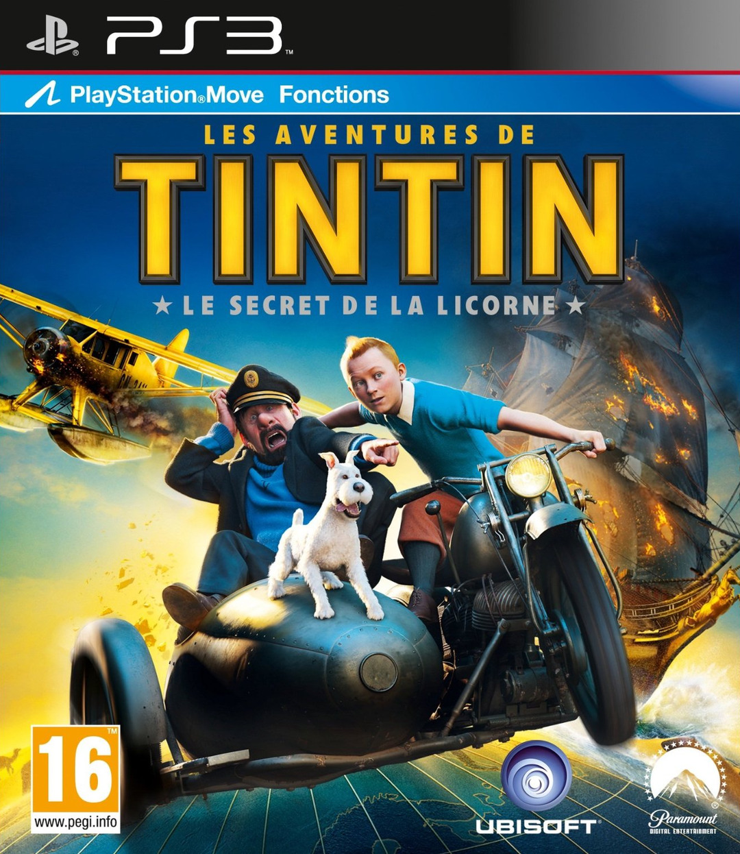 The Adventures Of Tintin USA PS3 [FS]