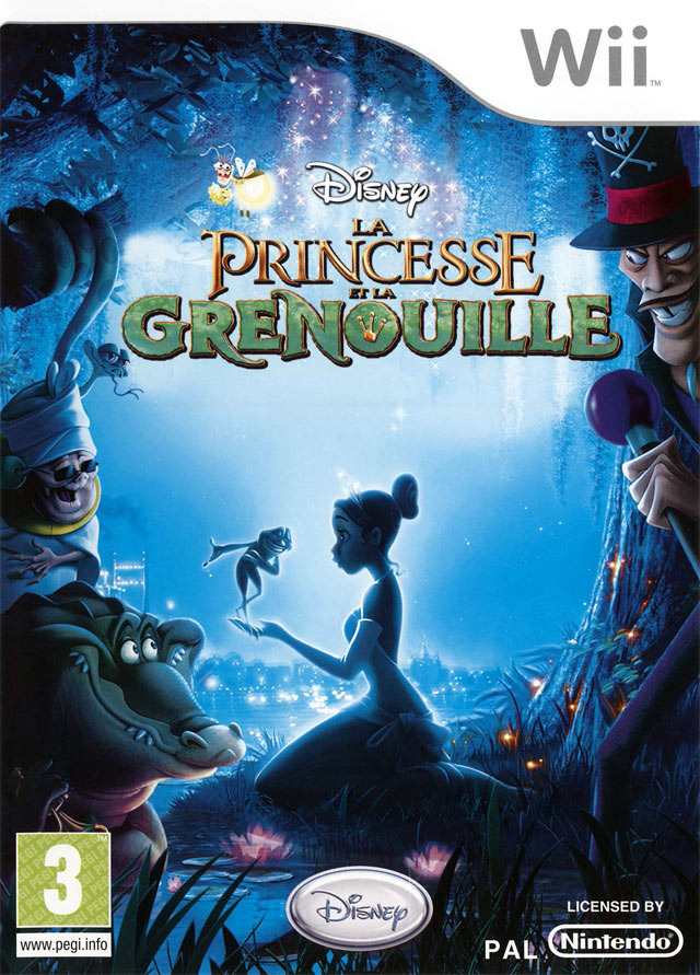 La Princesse et la Grenouille MULTi LANG Wii