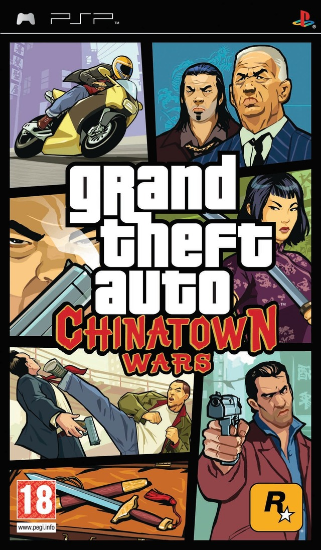 rapidshare[PSP] Grand Theft Auto : Chinatown Wars