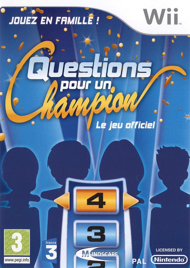 jeuxvideo.com Questions pour un Champion - Wii Image 1 sur 87