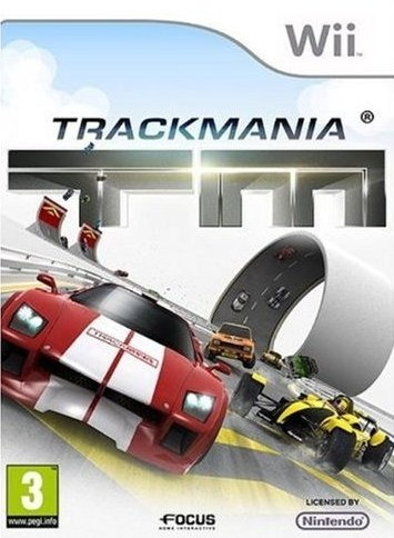 Trackmania Build To Race USA Wii [FS]