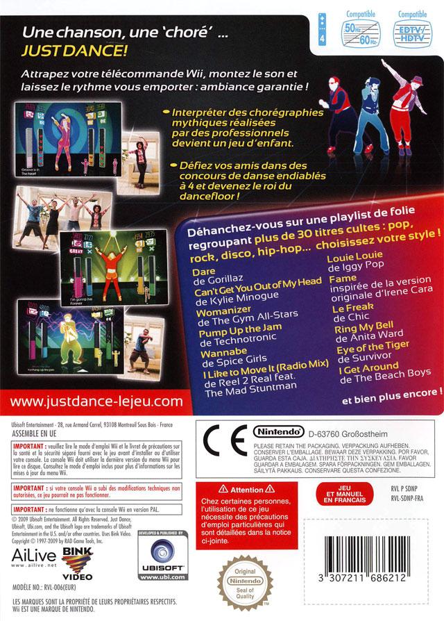 jeuxvideo.com Just Dance - Wii Image 2 sur 138