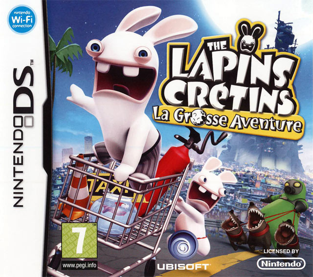 [HF] The Lapins Cr?�tins : La Grosse Aventure [NDS]