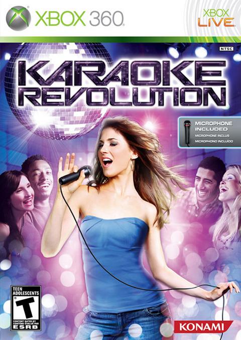 karaoke revolution sur xbox 360. Black Bedroom Furniture Sets. Home Design Ideas