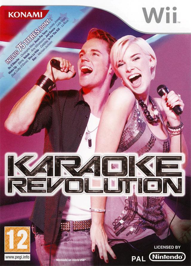 wii spel karaoke