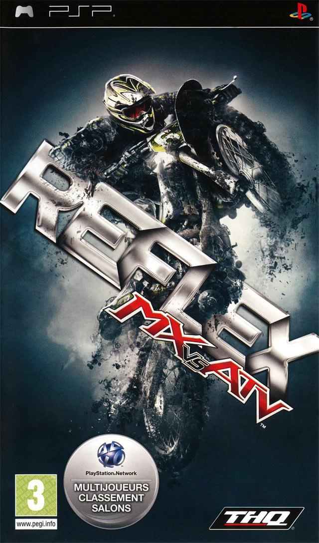 MX vs ATV Reflex sur PlayStation Portable - jeuxvideo.com
