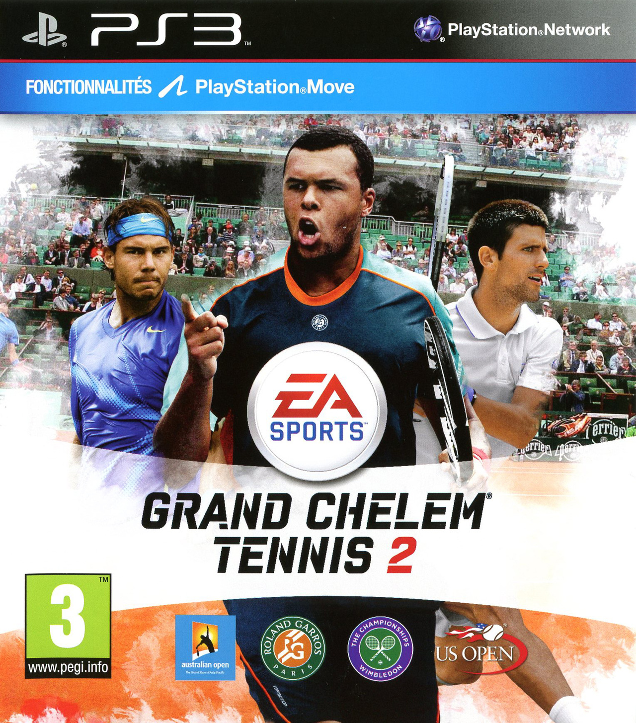 Grand Slam Tennis 2 PS3 (exclue) [DF]