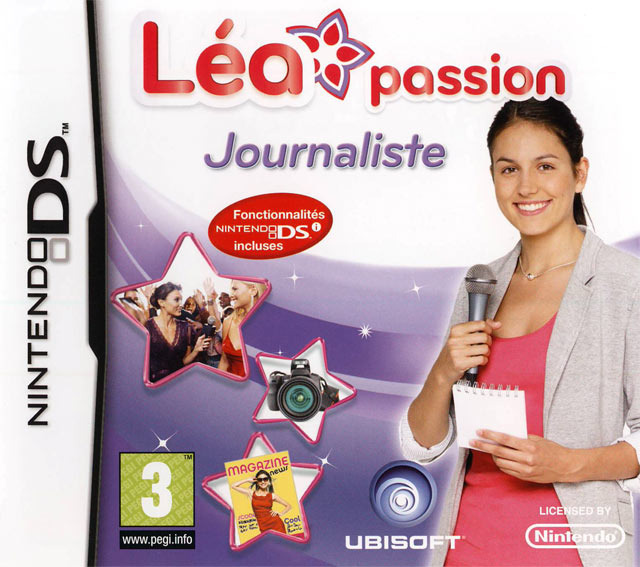 L a passion journaliste sur nintendo ds for Lea passion decoration