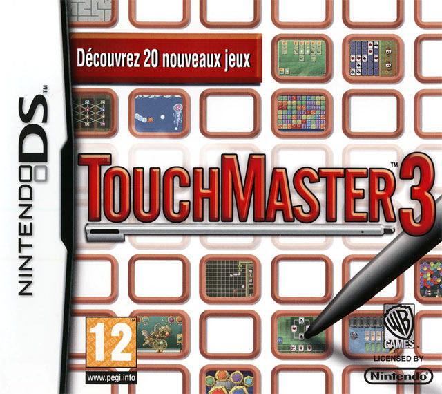 touchmaster 3 sur nintendo ds. Black Bedroom Furniture Sets. Home Design Ideas