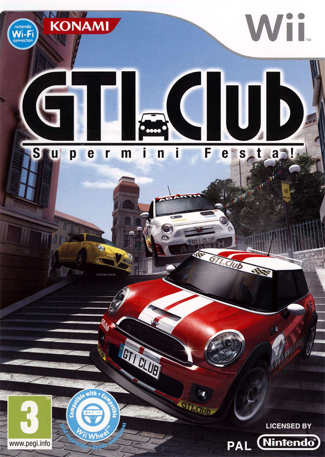 gti club supermini festa sur wii. Black Bedroom Furniture Sets. Home Design Ideas