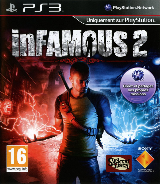 inFamous 2- PS3 | EURO  [FS] [US] (Exclue)