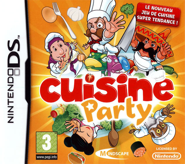 [HF] Cuisine Party  [NDS]