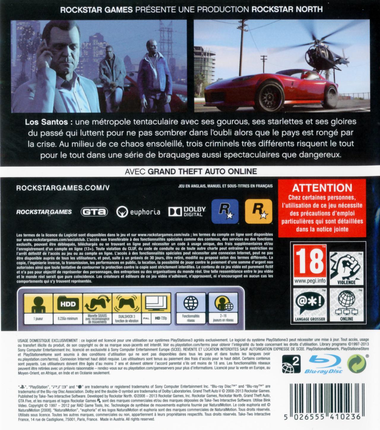Gta Grand Theft Auto V 5 Ps3: Ça Fait Peur La Date De Sortie Sur Le Forum Assassin's