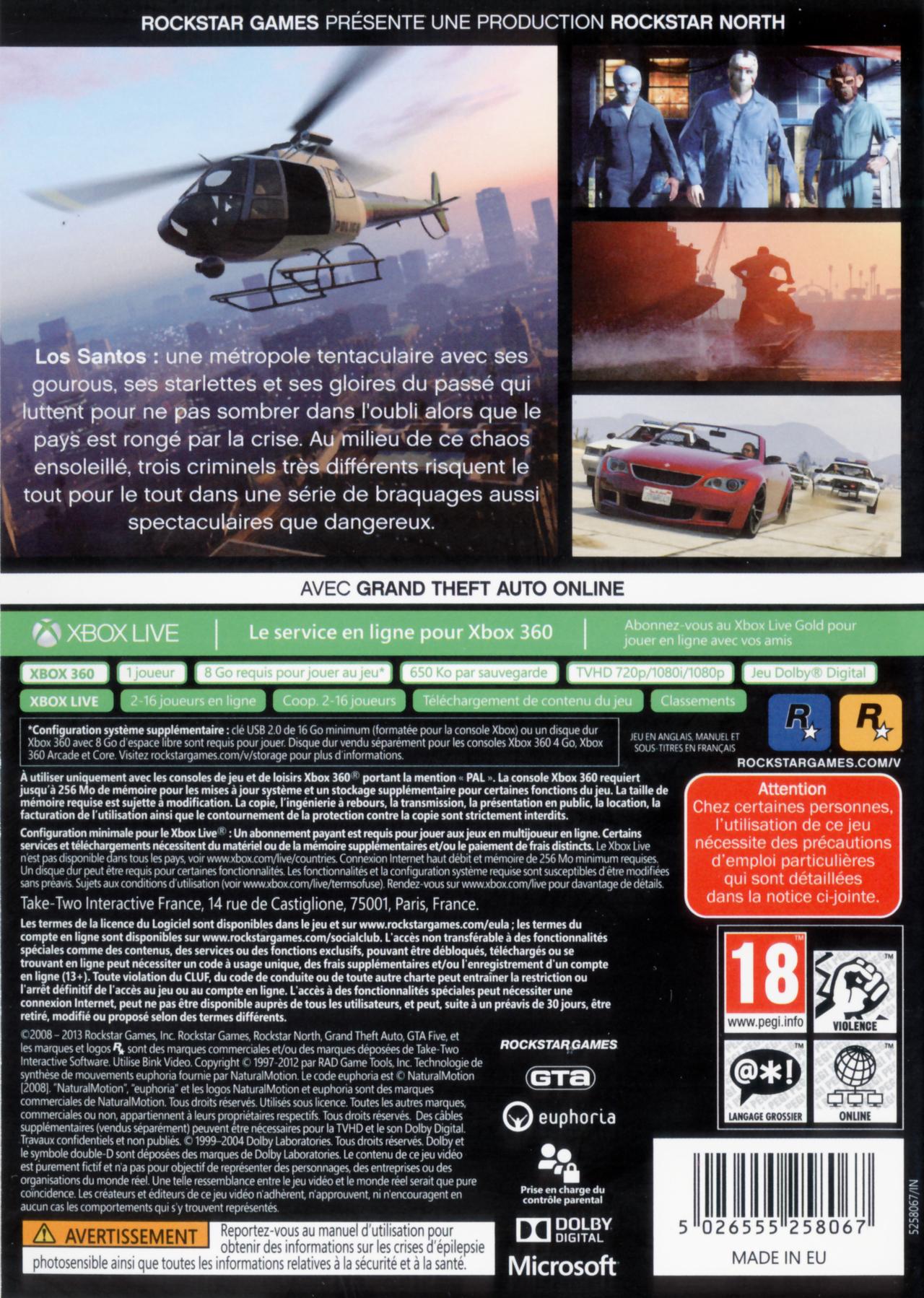 Bien plus que 16 joueurs en online sur le forum grand theft auto v 12 09 2013 10 33 31 - La xbox one lit elle les jeux xbox 360 ...