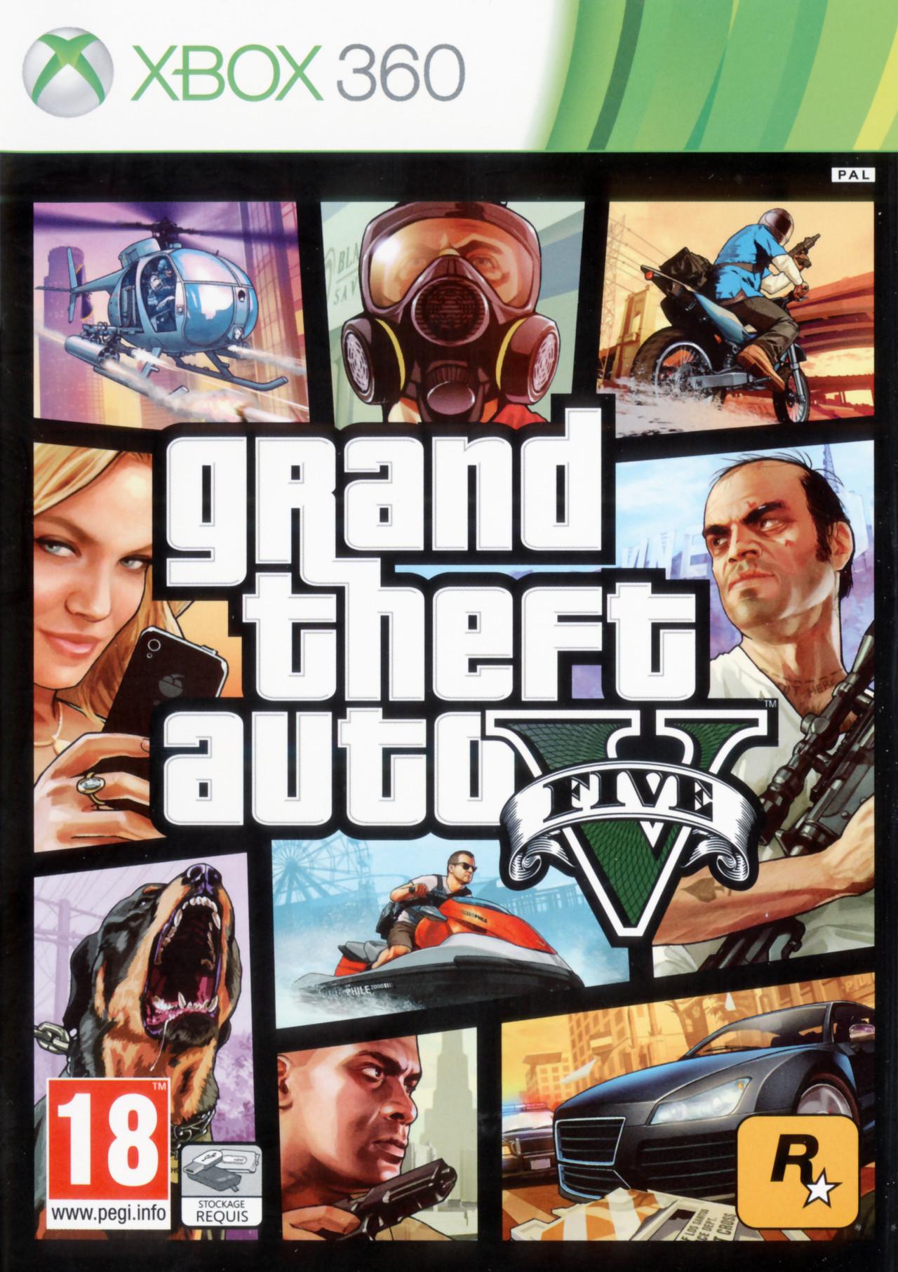 GTA (Grand Theft Auto) 5 sur Xbox 360 - jeuxvideo.com