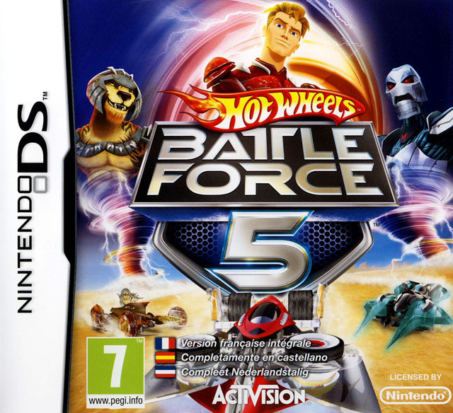 Hot Wheels : Battle Force 5
