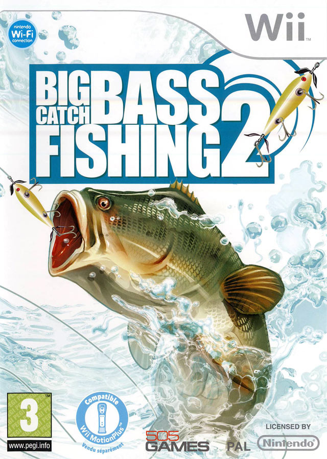 Big catch bass fishing 2 sur wii for Ps4 bass fishing games