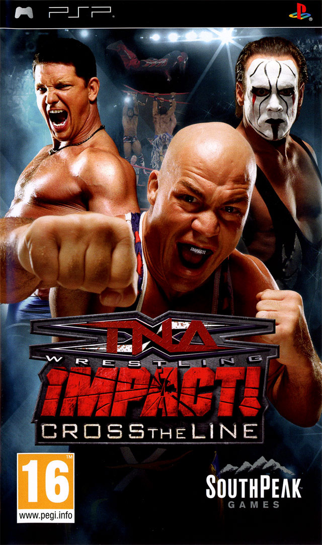 TNA IMPACT! : Cross The Line USA PSP | Megaupload Multi Lien