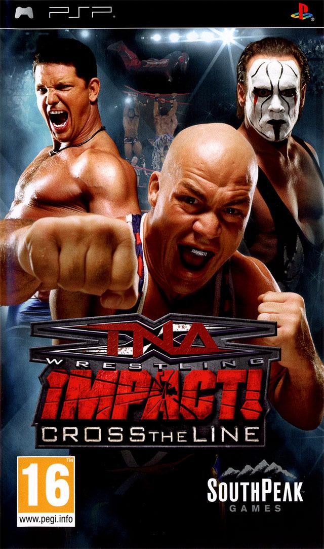 TNA IMPACT! : Cross The Line USA PSP | Megaupload Multi Lien