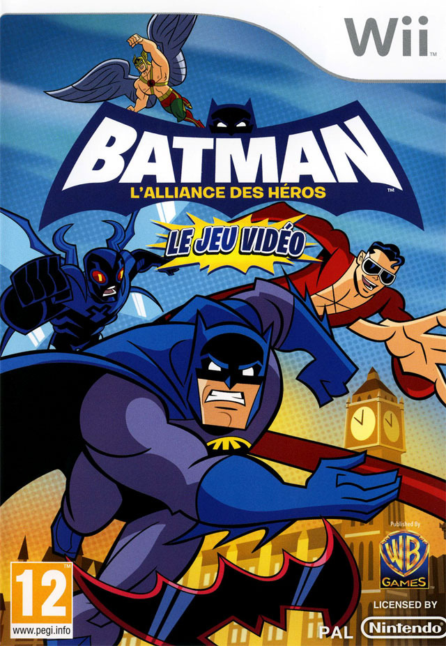 Batman : L'Alliance des Héros le Jeu Vidéo [PAL] (SCRUBBED)