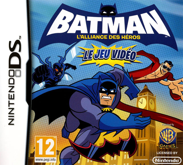 batman l 39 alliance des h ros le jeu vid o sur nintendo ds. Black Bedroom Furniture Sets. Home Design Ideas
