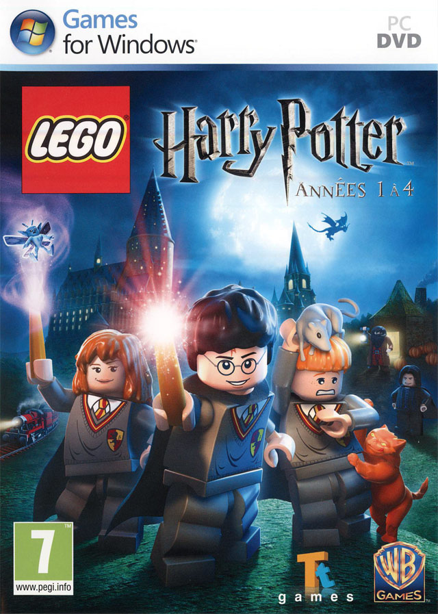 Lego Harry Potter : Ann?�es 1 ?� 4 exclue