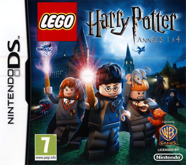 [HF] Lego Harry Potter  Ann?�es 1 ?� 4 [NDS]