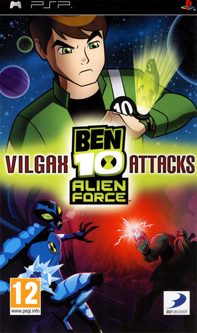 Ben 10 alien force vilgax attacks sur playstation - Jeux info ben 10 ...