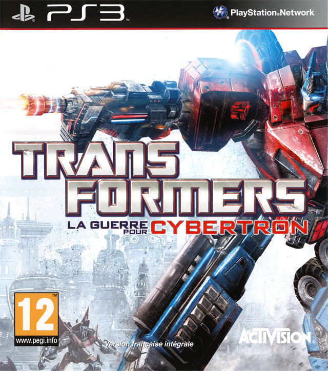 Transformers : La Guerre pour Cybertron sur PlayStation 3 - jeuxvideo.com