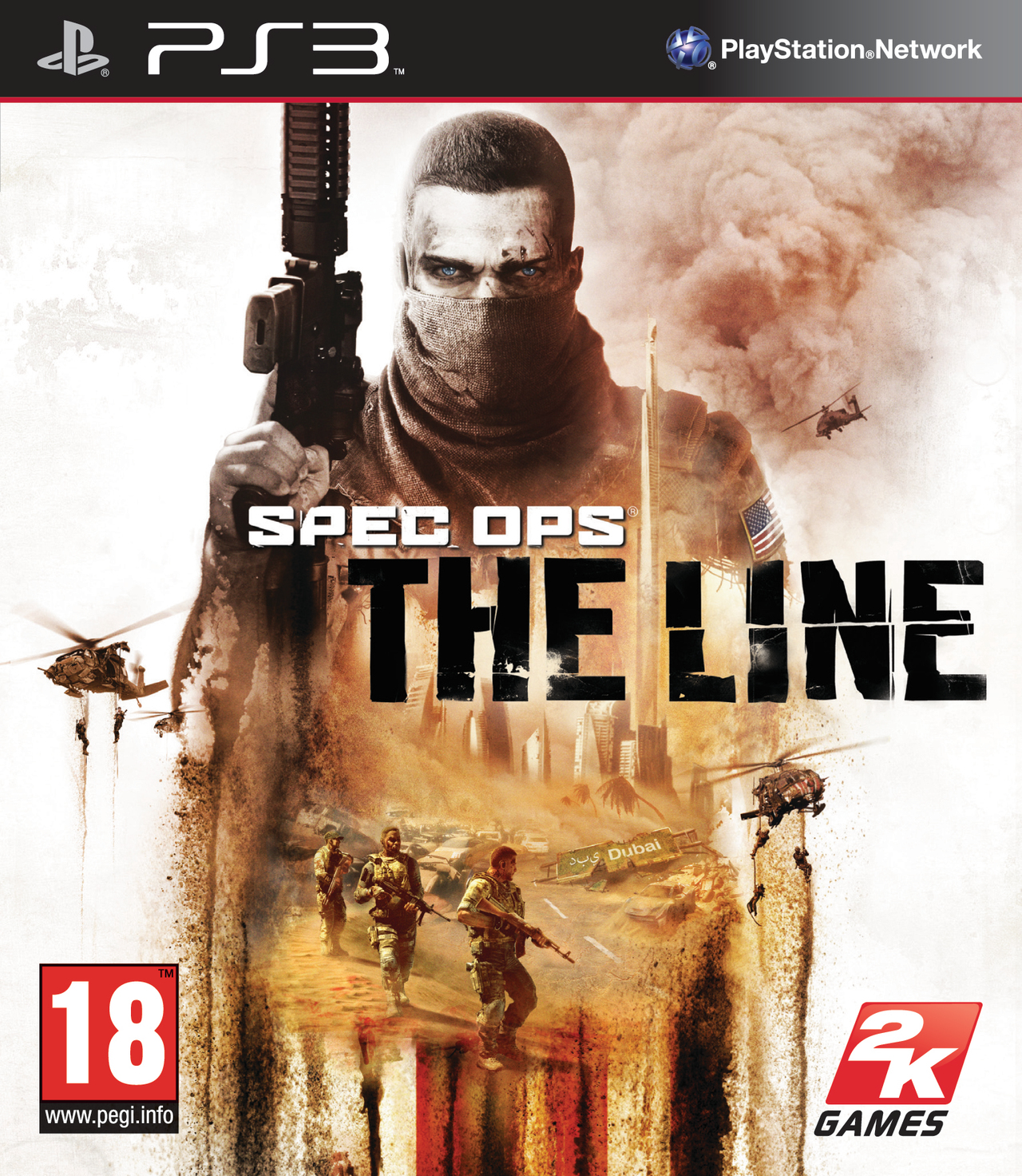 Spec Ops The Line PS3 [RG]