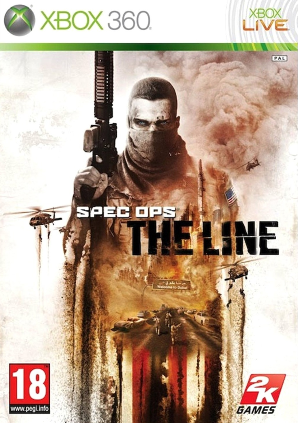 Spec Ops The Line XBOX360 [FR] (exclue) [MULTI]