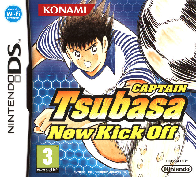 Jaquette Captain Tsubasa New Kick Off Nintendo Ds Cover Avant G