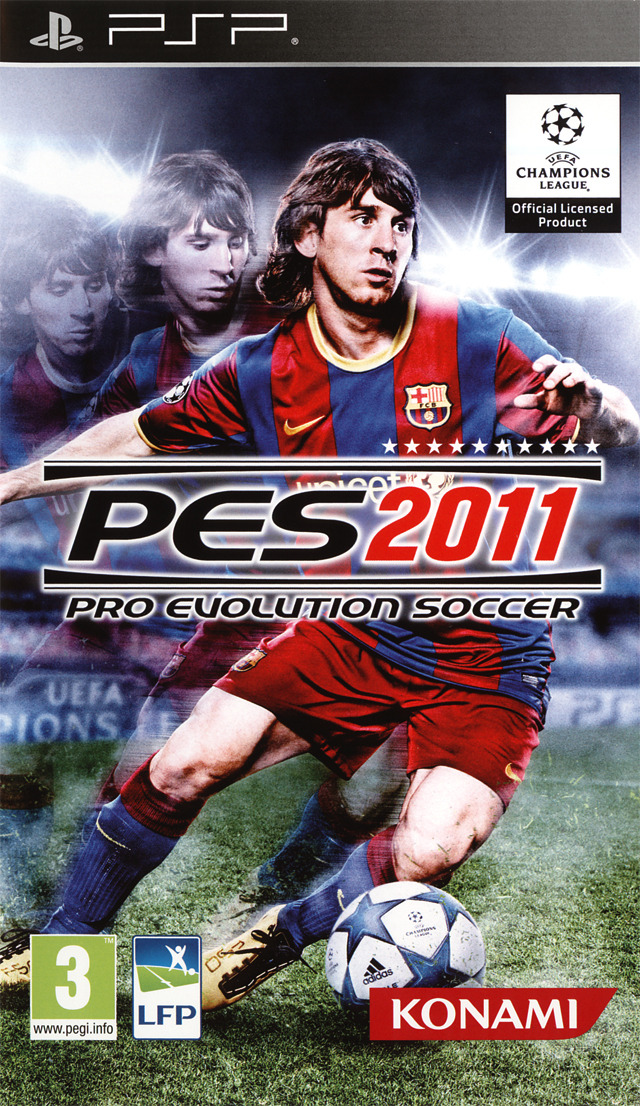 Pro Evolution Soccer 2011  | MULTILANGUE | PSP |