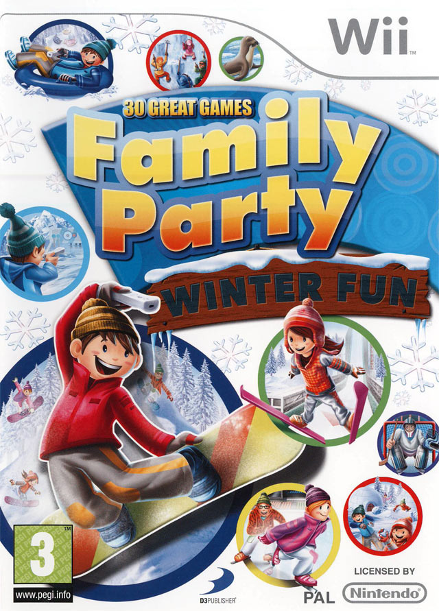 Family Party : 30 Great Games Winter Fun Anglais Wii