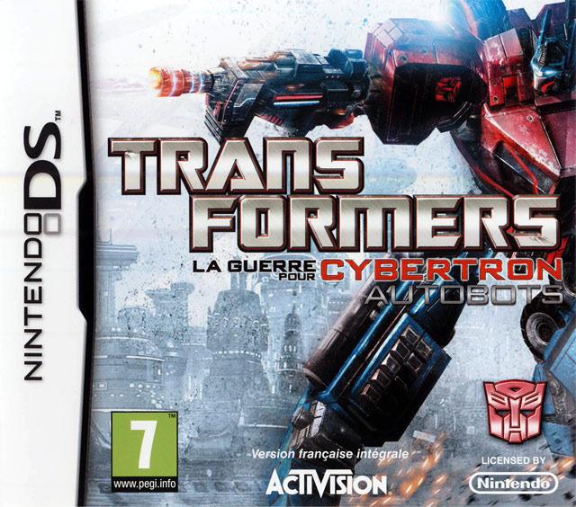 Transformers : La Guerre pour Cybertron - Autobots French NDS