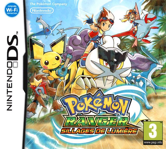 Pokémon Ranger : Sillages de Lumière MULTiLANGUES NDS