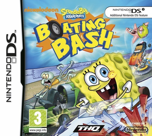 SpongeBob SquarePants Boating Bash EUR MULTi2 NDS [DF]